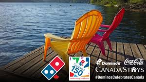 domino u0027s celebrates canada sweepstakes win trips and pizza