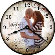 personalized wedding clocks gotta this one of a designer photo clock with my family