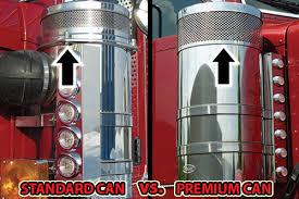 peterbilt air cleaner lights rear air cleaner light bars dieters