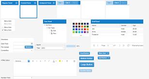 theme line blue how to create a dark ext js theme part 1 sencha com
