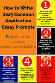 Any Topic Essay Samples The Common Application Blog