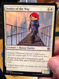 Seeking Card Cast Seeking Da Wae Magicthecirclejerking