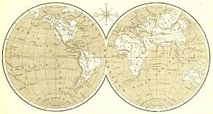 World Globe Map Bywebsite Old World Maps
