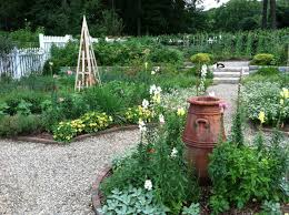 cool organic garden design with additional furniture home design