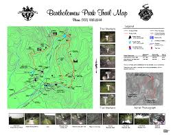 Annadel State Park Map by Sonoma Walks U0026 Hikes