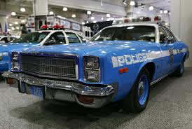 the best part of nyias is all the vintage police cars in the