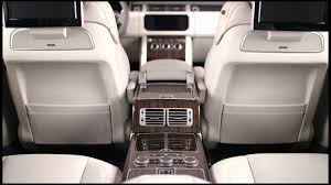 land rover range rover interior range rover svautobiography interior features youtube