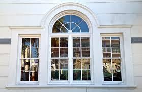 decor window treatments for eyebrow windows with palladian window