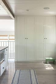 ikea white beadboard kitchen cabinets ikea pax cabinets transitional kitchen valspar