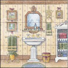 vintage bathroom tile ideas bathroom tile ideas vintage bathroom i tile mural