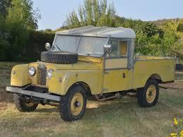 nice patina original paint 1957 land rover series 1 107 bring a