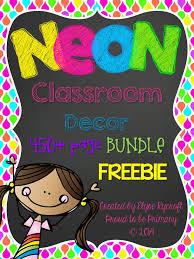 Primary Class Decoration Ideas Best 25 Neon Classroom Decor Ideas On Pinterest Classroom