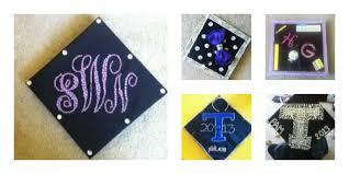 monogram graduation cap monogram graduation cap