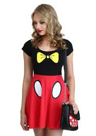 mickey mouse halloween costumes i am mickey skater dress