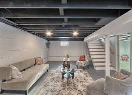 Basement Remodeling Ideas On A Budget Basement Finishing Low Ceiling Home Design Plan