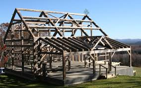 Post And Beam Barn Kit Prices Old Barn Frames For Sale Vermont Timber Works Beautiful Timber