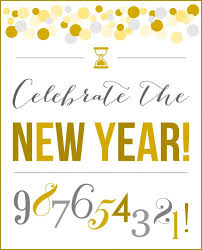 New Year Decorations Printable by 19 Best Free Printables New Year U0027s Party Images On Pinterest New