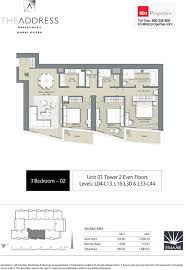 floor plans by address floor plans the address residences dubai opera tower 2