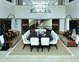 contemporary dining room by kelly hoppen