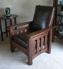 Morris Chair Lifetime Morris Chair 583 Mission Man Antiques