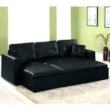 canap lit cuir noir canape lit cuir noir canapac 3 places en na1 convertible simili et