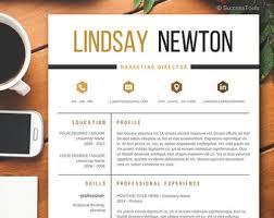 cv format professional resume template etsy