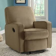 Swivel Recliner Chairs For Living Room Small Swivel Recliner Foter