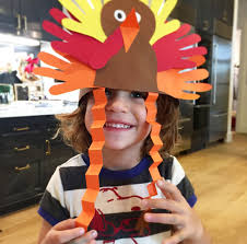 turkey hat diy handprint turkey hat molly sims