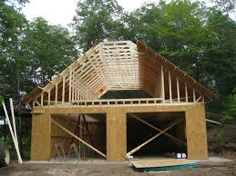 2 car garage plans with loft two car garage with shop and attic truss roof plan of loft plans