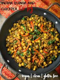 cuisine vegan indian quinoa and chickpea stir fry eat healthy eat