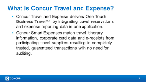 Expense Reporting Tool by 2 Concur Travel And Expense Training Speaker Name Here Space For
