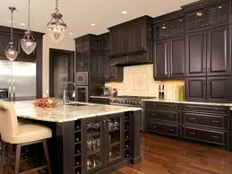 blue kitchen cabinets with granite countertops espresso kitchen cabinets trendy color for your kitchen