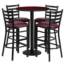 used bar stools and tables laminate table set 30 round bar height commercial table sets