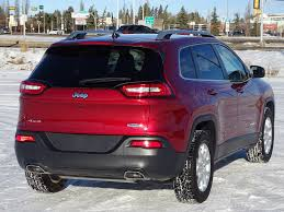 purple jeep cherokee 2017 jeep cherokee for sale in edmonton ab londonderry dodge