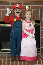mario and princess peach sibling halloween costumes princess