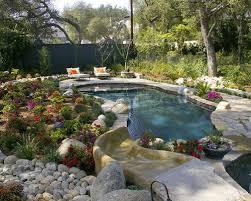 Pool Garden Ideas Backyard Pool Landscaping Ideas Houzz