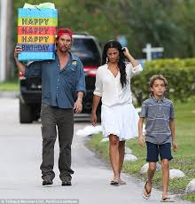 Make Up Classes In Miami Matthew Mcconaughey And Family Head To A Party In Miami Daily
