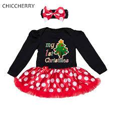 my christmas baby girl aliexpress buy polka dot my christmas baby girl