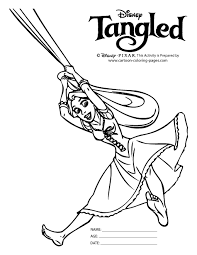 free tangled coloring pages tangled coloring pages for kids printable