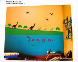 home design max kids room color idea asian paints jurassica glow