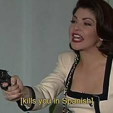 Soraya Montenegro Meme - kills you in spanish soraya montenegro meme men s premium t