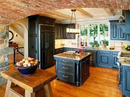 Dark Blue Kitchen Cabinets by Blue Kitchen Cabinets And White Kitchen Cabinet Ideas Featuring