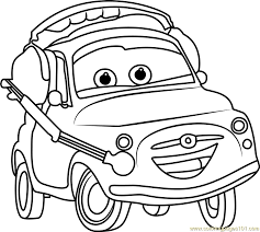 luigi cars 3 coloring free cars 3 coloring pages