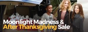 moonlight madness after thanksgiving sales at tanger outlets