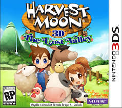 harvest moon 3d the lost valley english otome games wiki
