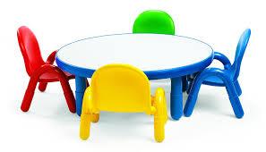 amazon com angeles toddler table u0026 chair set royal blue toys u0026 games