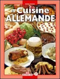 cuisine en allemagne cuisine allemande