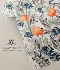 designer wrapping paper davina floral gift wrap wrapping paper deanna v amirante