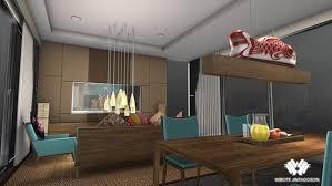 Modern ZEN Style Interior Design Project On SVA Portfolios - Zen style interior design