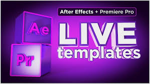 motion tutorials live text templates with after effects